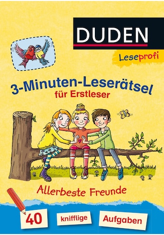 Buch »Duden Leseprofi - 3-Minuten-Leserätsel für Erstleser: Allerbeste Freunde /... kaufen