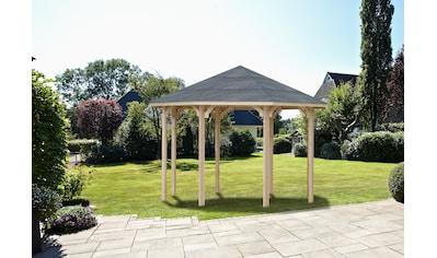 Wolff Holzpavillon »Kreta 8«, BxT: 397x397 cm kaufen