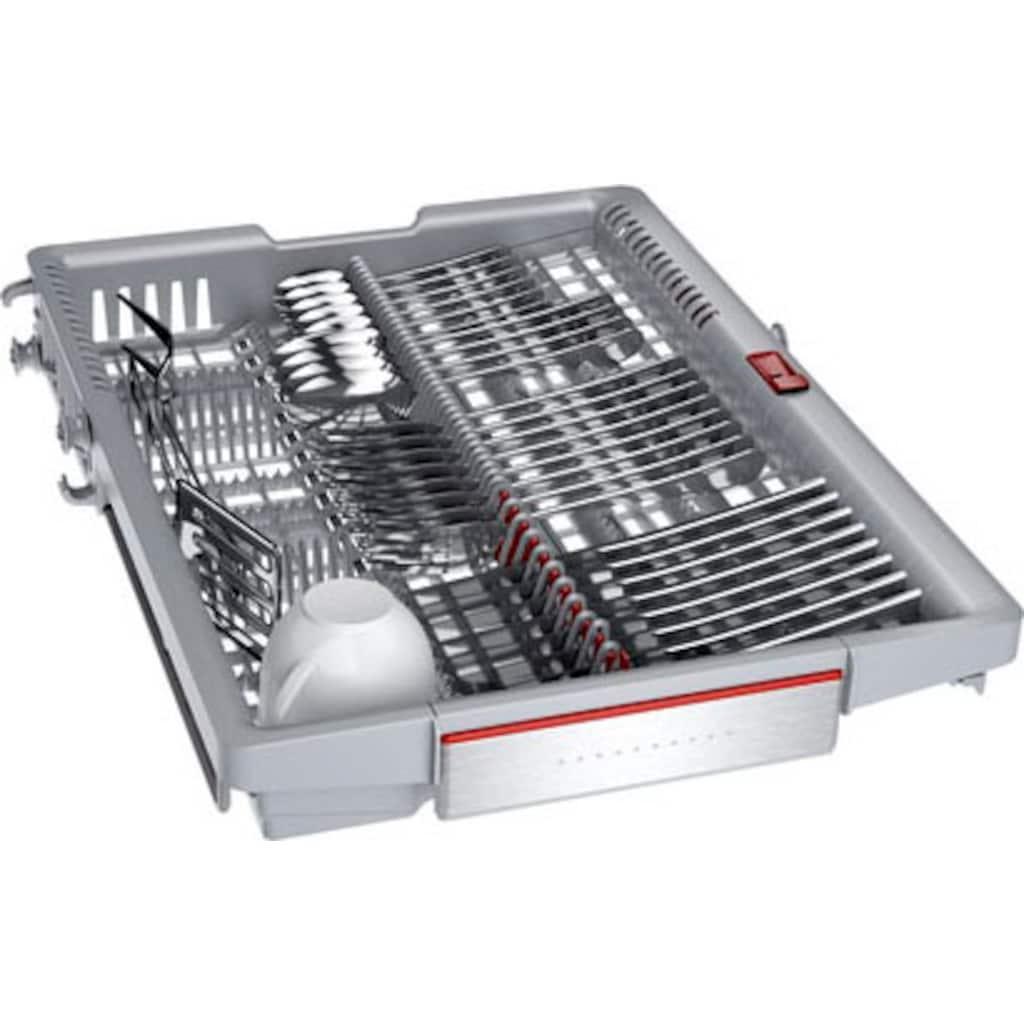 BOSCH integrierbarer Geschirrspüler »SPI6ZMS35E«, Serie 6, SPI6ZMS35E, 10 Maßgedecke