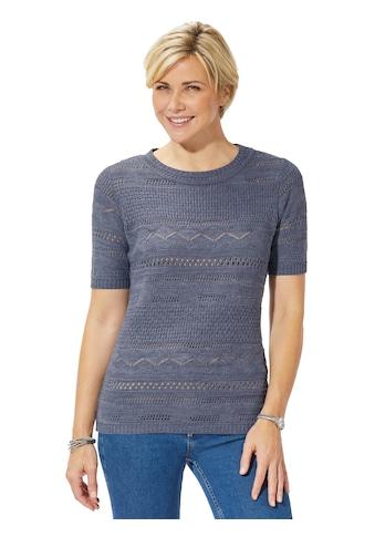 Casual Looks Ajourpullover »Pullover« kaufen