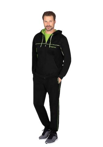 Trigema Jogginganzug, mit Kapuze und Reißverschluss kaufen