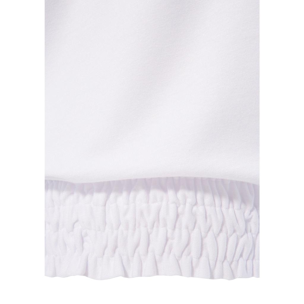 Trachtenshirt, mit elastischem Smokbund