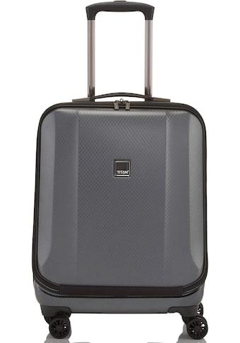 TITAN® Business-Trolley »Xenon Deluxe, 55 cm, Graphite«, 4 Rollen, mit Tablet- und Laptopfach kaufen