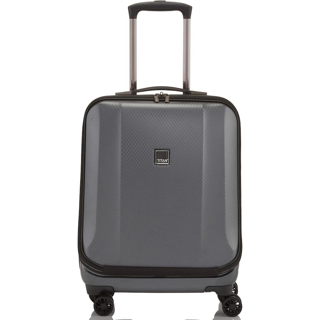 """TITAN® Business-Trolley """"Xenon Deluxe, 55 cm, Graphite"""", 4 Rollen"""