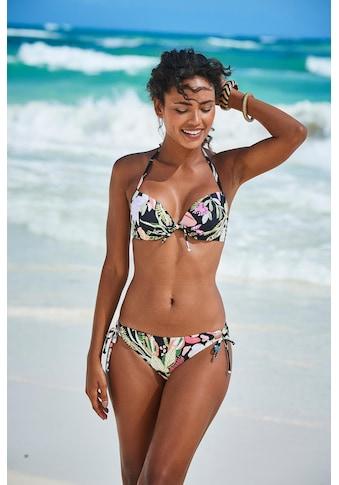s.Oliver Bikini-Hose »Herbst«, mit seitlichen Bindebändern kaufen