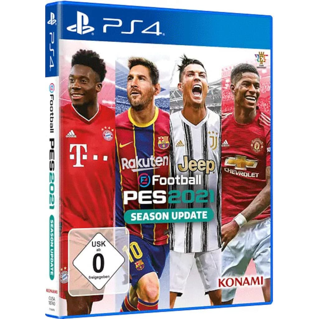 Konami Spiel »PES 2021«, PlayStation 4