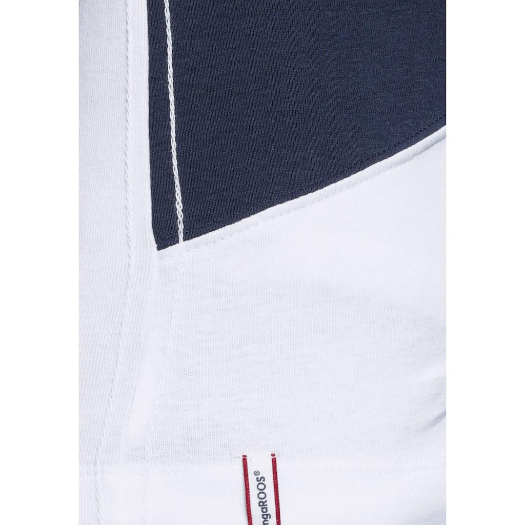 KangaROOS Poloshirt, mit Colorblocking