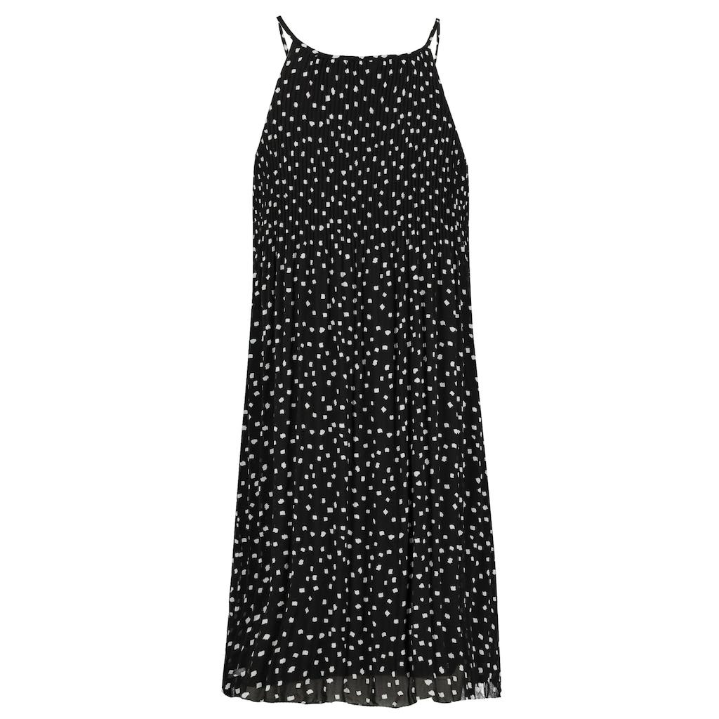 SUBLEVEL A-Linien-Kleid, plissiert