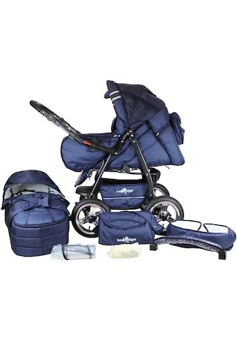 bergsteiger Kombi-Kinderwagen »Rio, marine blue, 3in1«, mit Lufträdern; Made in... kaufen