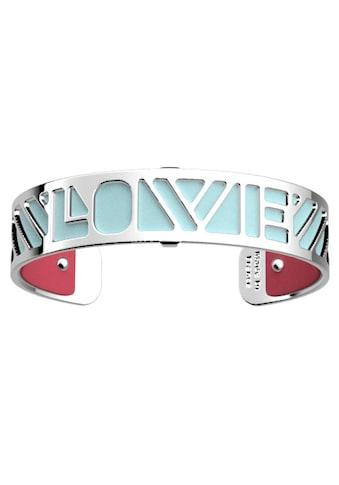 Les Georgettes Armband Set »LOVE, HELLBLAU - GRNATROT, LOVS14 - DP« (Set, 2 tlg.) kaufen