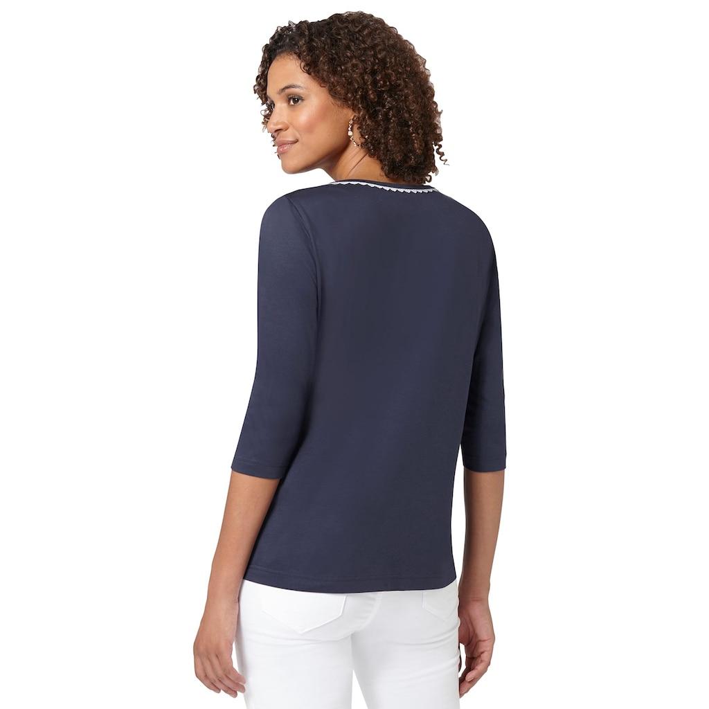 Classic Basics 3/4-Arm-Shirt