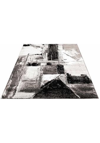 Carpet City Teppich »Moda 1134«, rechteckig, 11 mm Höhe, Kurzflor, Wohnzimmer kaufen