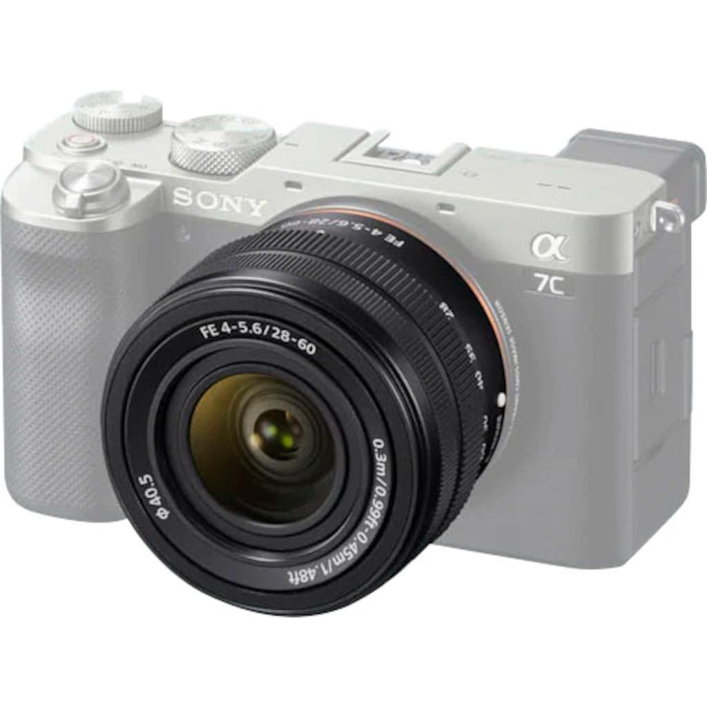 Sony Objektiv »SEL 28–60mm FE4–5.6«