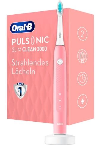 Oral B Schallzahnbürste Pulsonic Slim Clean 2000, Aufsteckbürsten: 1 Stk. kaufen