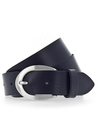 Vanzetti Ledergürtel, mit ovaler Dornschließe kaufen
