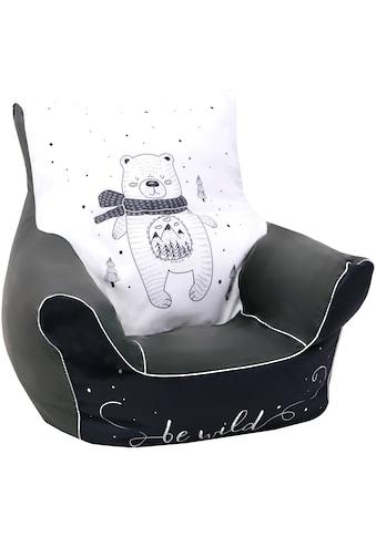Knorrtoys® Sitzsack »Bear«, für Kinder; Made in Europe kaufen