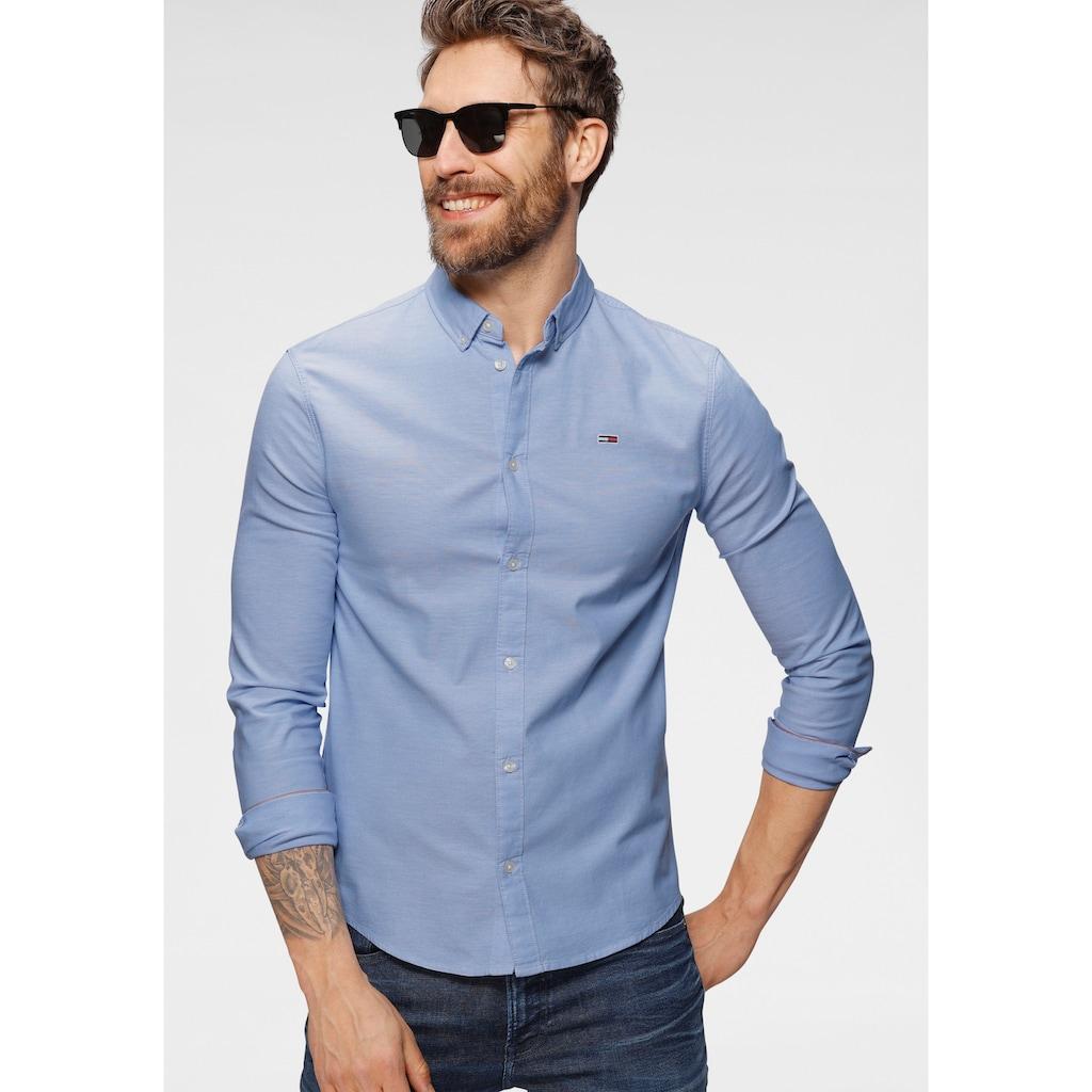 Tommy Jeans Langarmhemd »TJM SLIM STRETCH OXFORD SHIRT«
