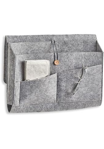 Zeller Present Aufbewahrungstasche »Couch-Organizer, Filz, grau«, (1 St.) kaufen
