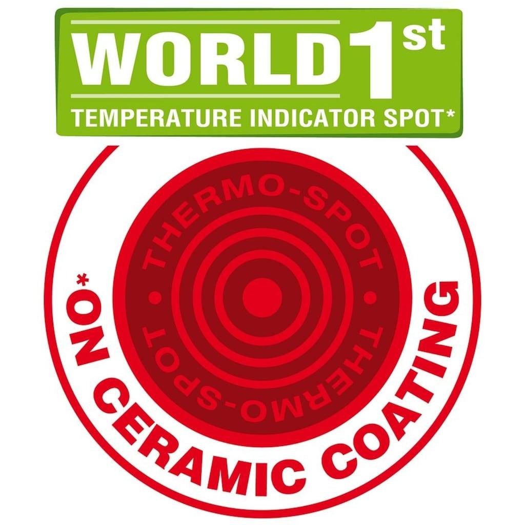 Tefal Bratpfanne »CeramicControl White«, Leichtmetall, (1 tlg.), Induktion