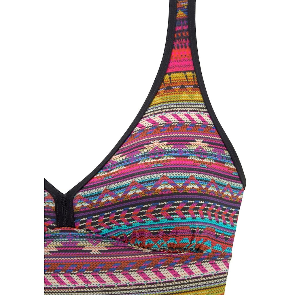 Sunflair Badeanzug, mit farbigem Print