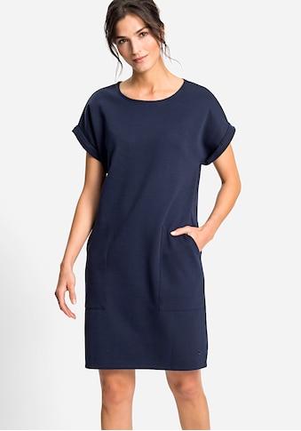 Olsen Sommerkleid, mit kurzen, gekrempelten Ärmeln kaufen