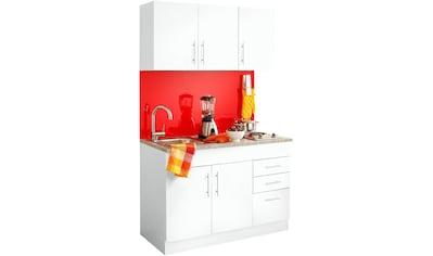HELD MÖBEL Küchenzeile »Toledo«, mit E-Geräten, Breite 120 cm kaufen