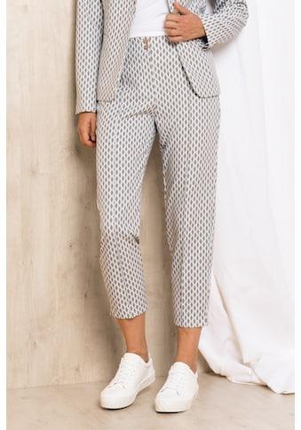 bianca Stretch-Hose »SIENA«, mit coolem Retro-Muster in sommerlichen Farben! kaufen