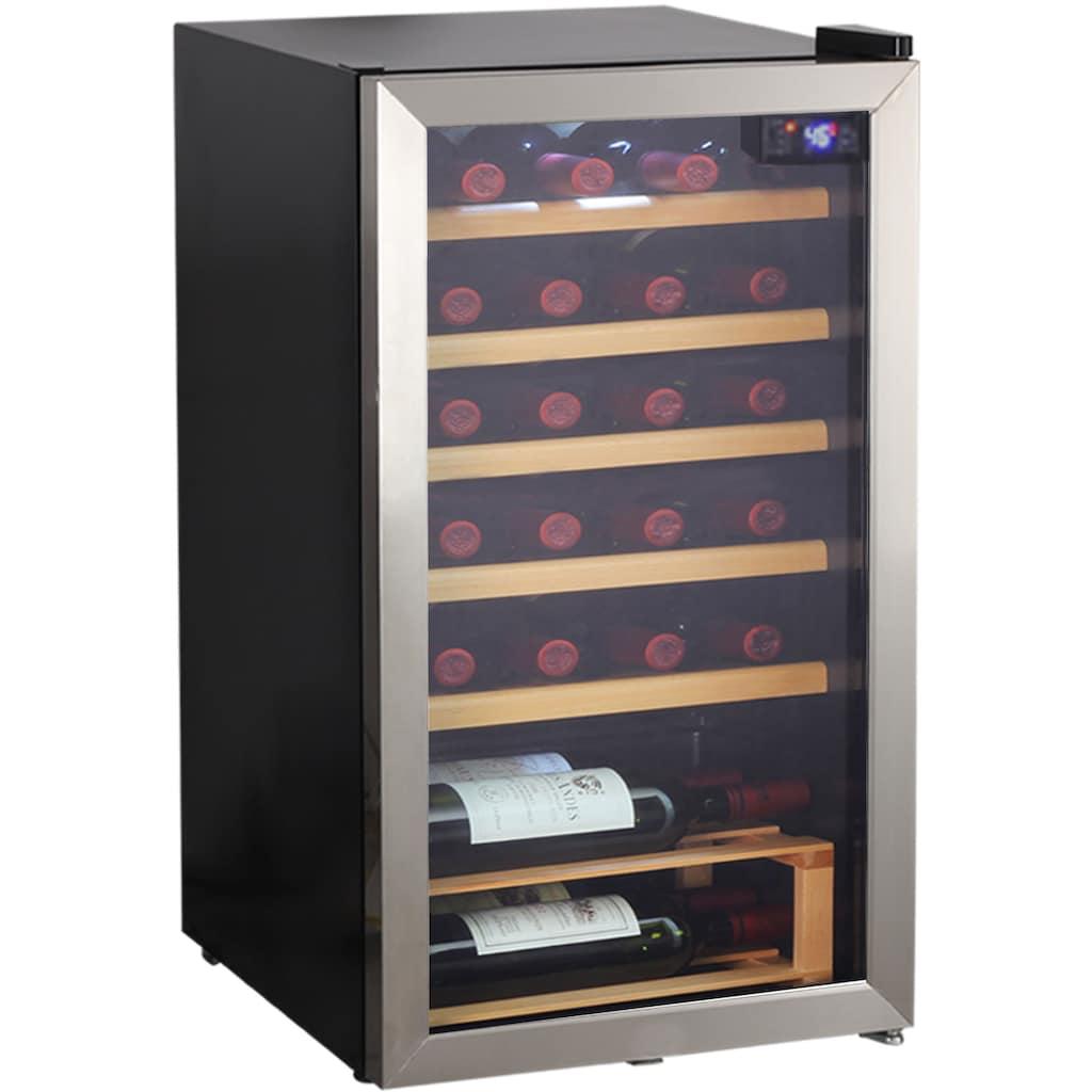 Hanseatic Weinkühlschrank »HWC24FCBH«, für 24 Standardflaschen á 075l