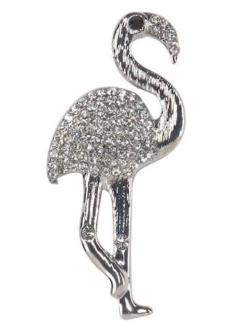 J.Jayz Brosche »in Flamingo Form«, (1 tlg.), mit Strasssteinen kaufen