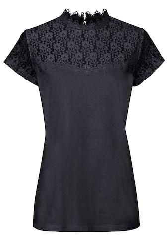 Classic Basics Shirt mit Knopfverschluss im Nacken kaufen