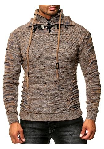 Rusty Neal Pullover mit hohem Kragen kaufen