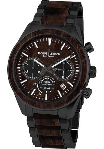 Jacques Lemans Chronograph »Eco Power Solar Wood, 1-2115M« kaufen