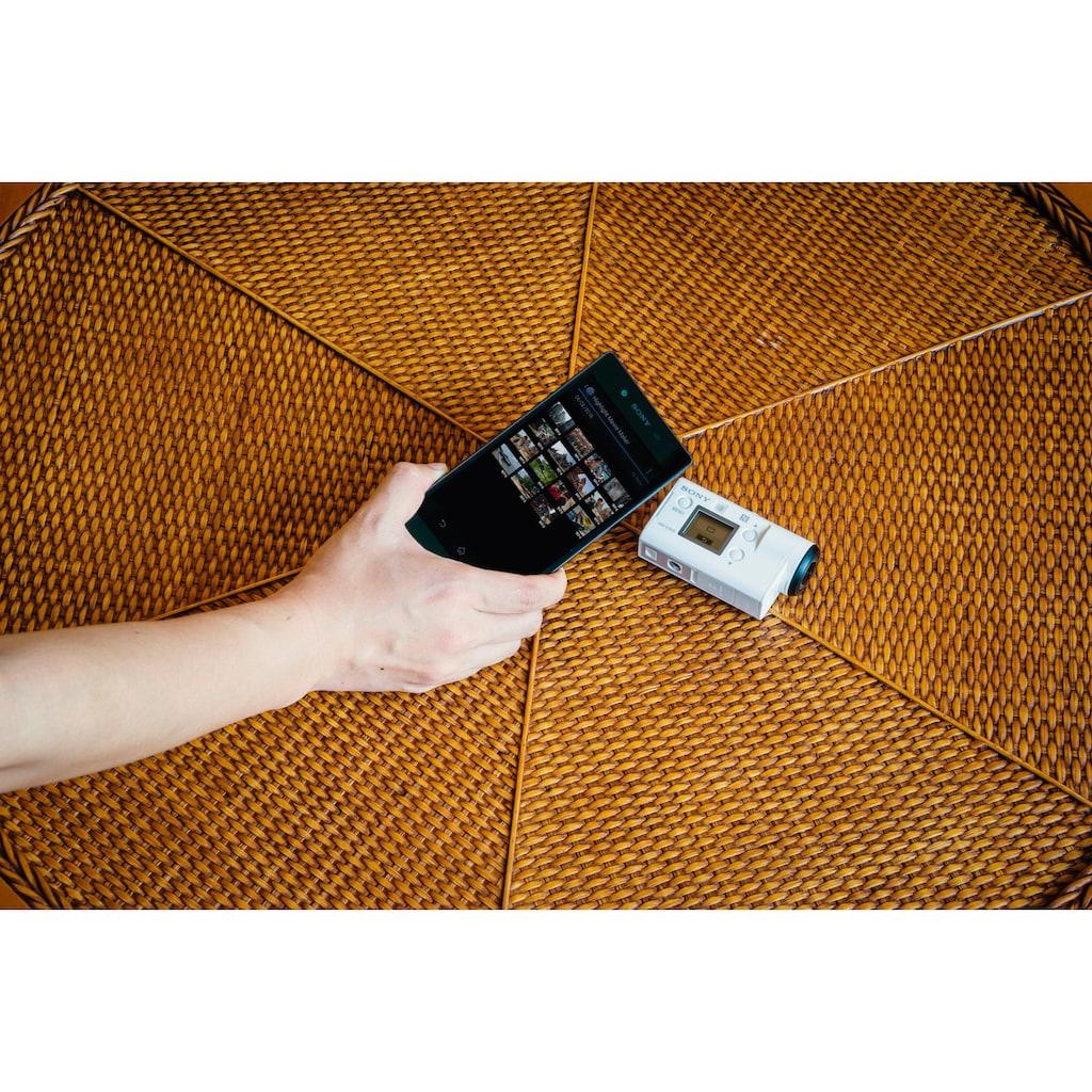 Sony Action Cam »FDR-X3000RFDI 4K (Ultra-HD)«, WLAN (Wi-Fi)-Bluetooth-NFC