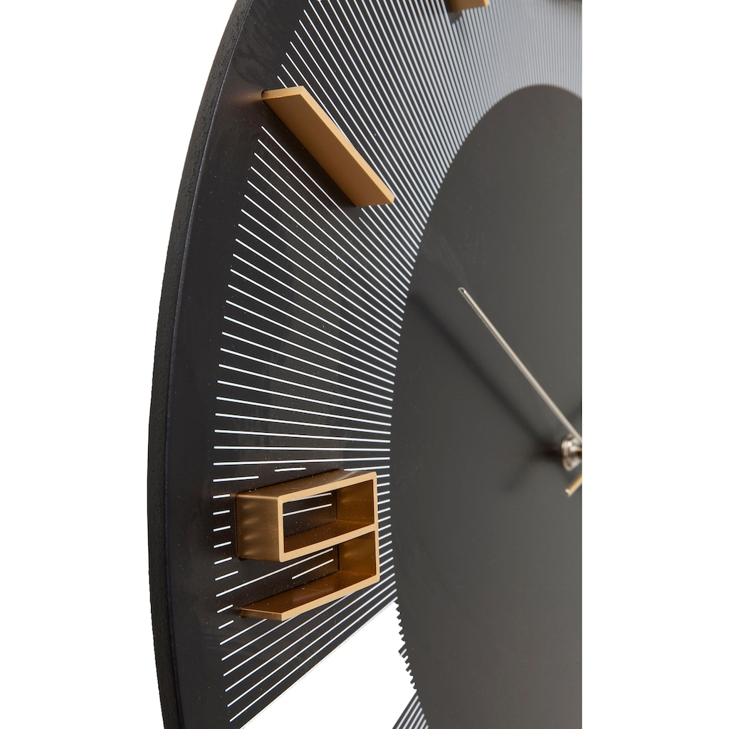 KARE Wanduhr »Leonardo«, rund, Ø 48,5 cm