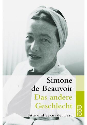 Buch »Das andere Geschlecht / Simone de Beauvoir, Uli Aumüller, Grete Osterwald« kaufen