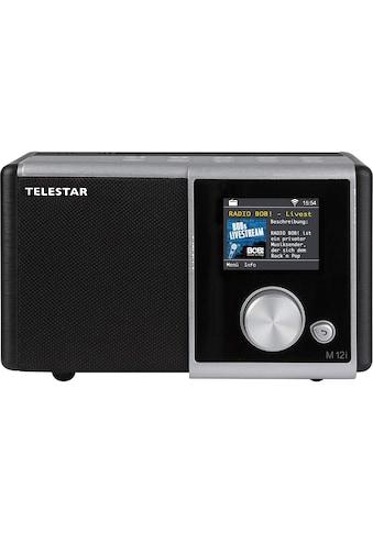 TELESTAR Internet-Radio »M 12i«, ( Digitalradio (DAB+)-FM-Tuner-Internetradio ), USB Musikplayer, MP3, WMA, AAC, WiFi kaufen