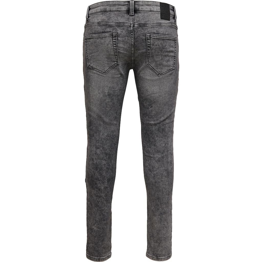ONLY & SONS Slim-fit-Jeans »LOOM SLIM ZIP«