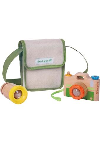 EverEarth® Spielzeug-Kamera, mit Fernrohr und Umhängetasche, FSC®-Holz aus gewissenhaft bewirtschafteten Wäldern kaufen