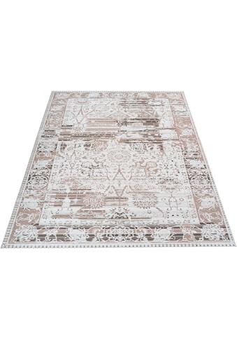 Teppich, »Arian«, Home affaire, rechteckig, Höhe 6 mm, maschinell gewebt kaufen