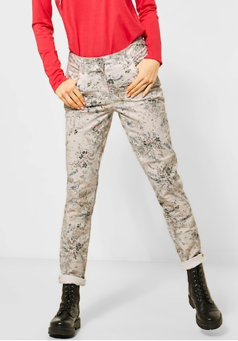 Cecil 5-Pocket-Hose »Gesa«, mit zartem floralem Allover-Print kaufen