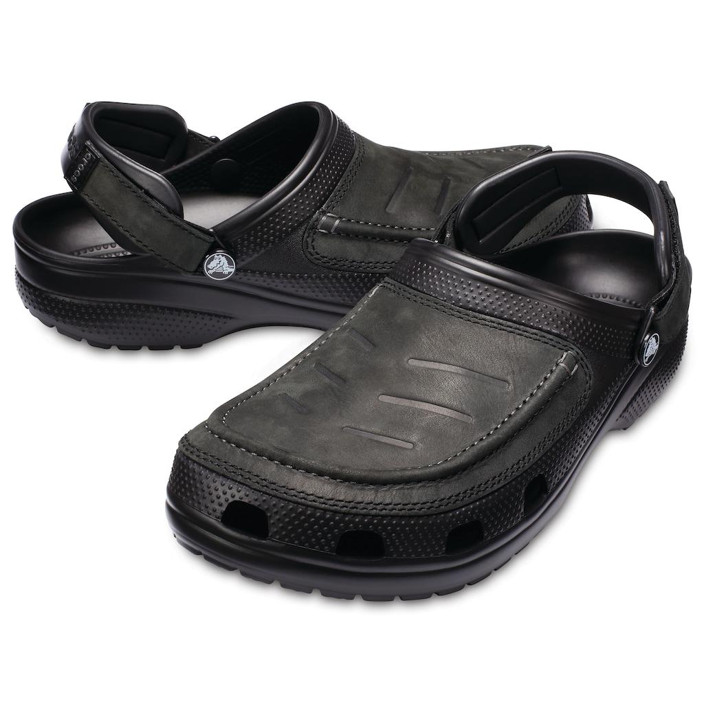 Crocs Clog »Yukon Mesa Clog M«, mit Leder besetzt