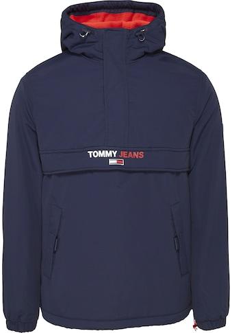 TOMMY JEANS Windbreaker »TJM SOLID POPOVER JACKET« kaufen