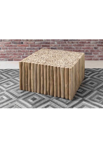SIT Couchtisch »Romanteaka«, recyceltes Teakholz, in drei Größen, Shabby Chic, Vintage kaufen