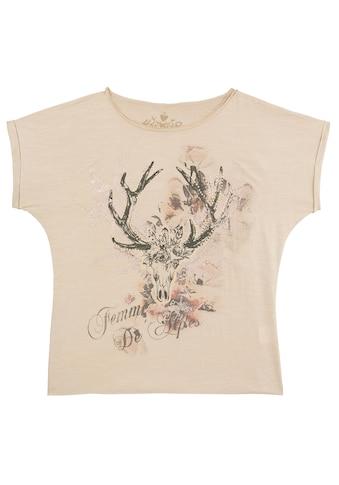 Hangowear Trachtenshirt, mit Hirsch-Druck kaufen