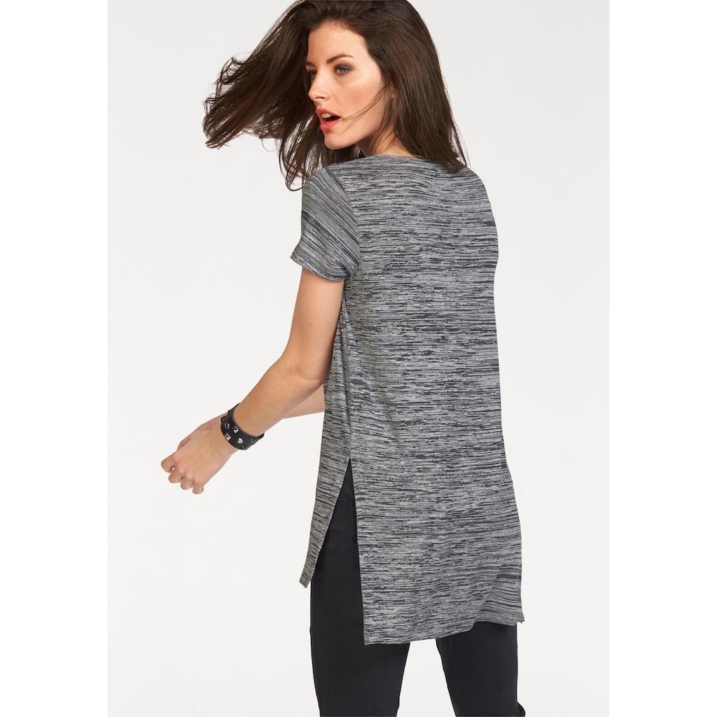 Aniston CASUAL Longshirt, mit Rundhals-Ausschnitt