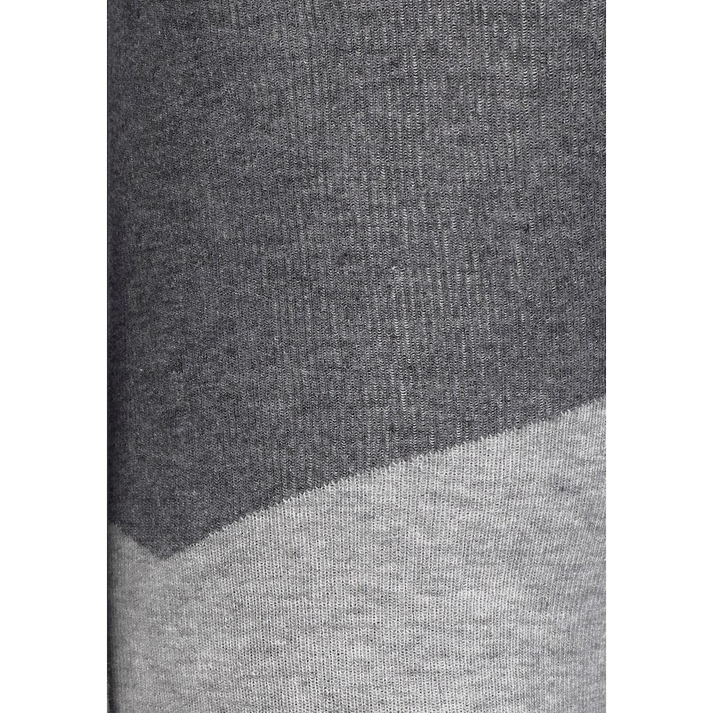 Bench. Strickleggings, im sportiven Colorblockdesign