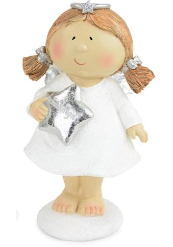 Engelfigur »Schutzengel mit Stern«, aus Polyresin kaufen