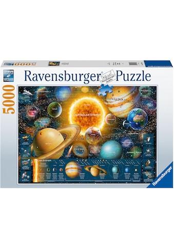 Ravensburger Puzzle »Planetensystem«, FSC® - schützt Wald - weltweit; Made in Germany kaufen