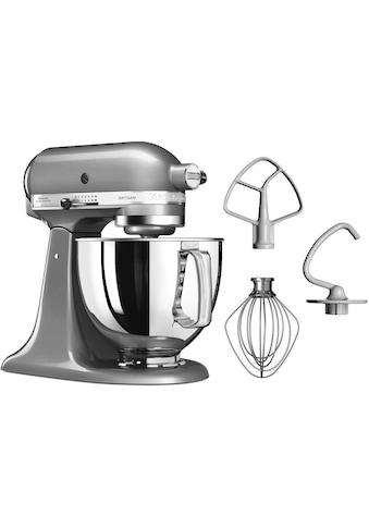 KitchenAid Küchenmaschine »Artisan 5KSM125ECU Kontur-Silber«, 300 W, 4,8 l Schüssel kaufen