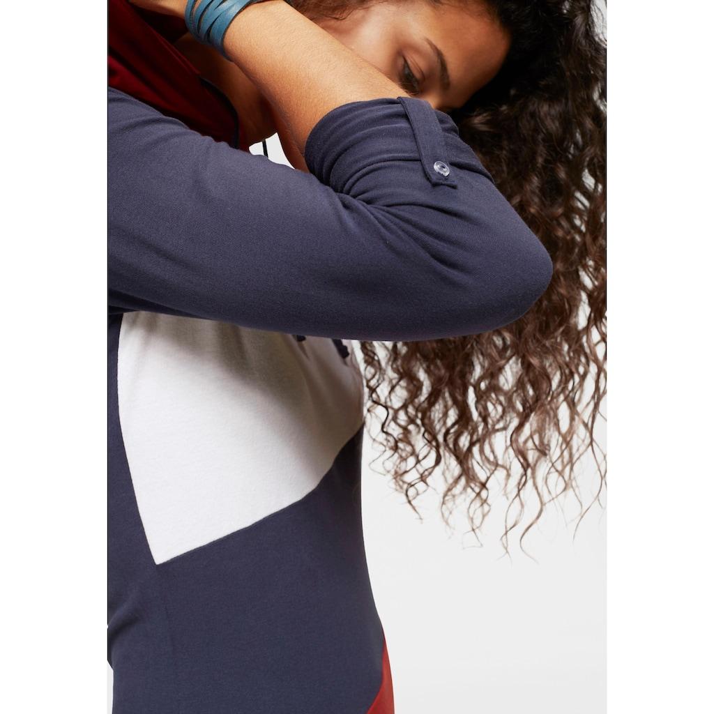 KangaROOS Shirtkleid, im aktuellen Colorblocking-Design